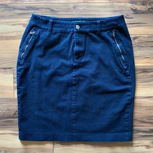 LRL denim skirt